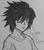 L Death Note by ChaosAna13