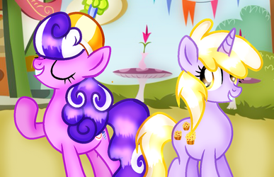 Screwball and Dinky Are A Great Pair of Friends by DoraeArtDreams-Aspy
