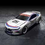 BMW CSL Hommage Concept by jonsibal