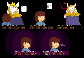 Undertale - No mercy [Spoilers?] by TiviProjectError
