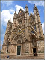 Italy - Cathedral of Orvieto by AgiVega