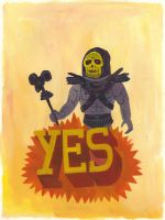 Yes Skeletor by Teagle
