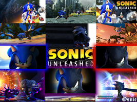 Sonic Unleashed Wallpaper by Osnic