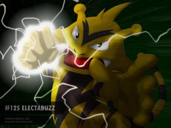 Electabuzz Thunderpunch by WarBandit