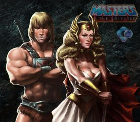 Fanart: Masters of The Universe by dr-conz