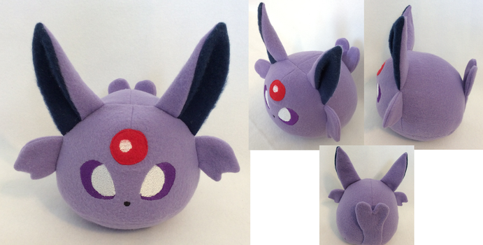 :PKMN: Espeon Poke Bean Plush (for sale) by MiharutheKunoichi