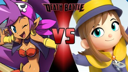 Shantae vs. Hat Kid by OmnicidalClown1992