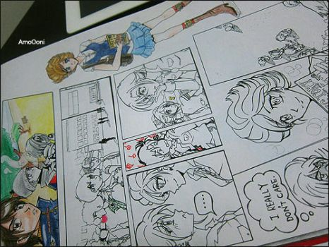 uncompleted manga by Eman-AlKaabi