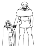 Travelling with Father by Aisuryuu