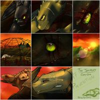 The Journey MAP Collage by PurpleMistPepper