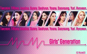 Girls' Generation Mr. Mr. Wallpaper by Rizzie23