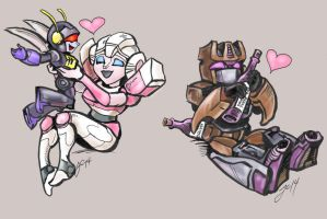 Transformers- Favorite Things by WolfWhiskers