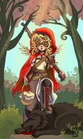 Little Red Riding Hood by FragileWhispers