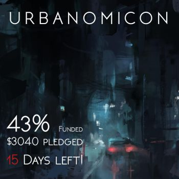 Urbanomicon at 43% Funded! by Alex-Chow