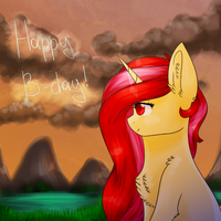 Happy Birthday - Pretty Shine~ [G] by TwinkePaint