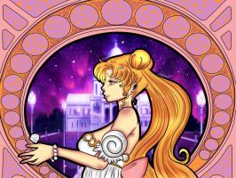 princess serenity by Invader-celes