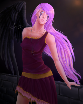 Lea the Fallen Angel by Serenity12778