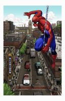 Ann Arbor Spider-Man by lukesparrow