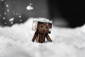 danbo trudges to work by majgreen