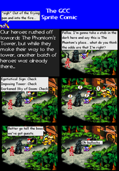 The GCC Sprite Comic 205 The Guests Have Arrived by Godzilla90sTK