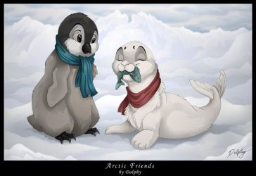Arctic Friends by DolphyDolphiana