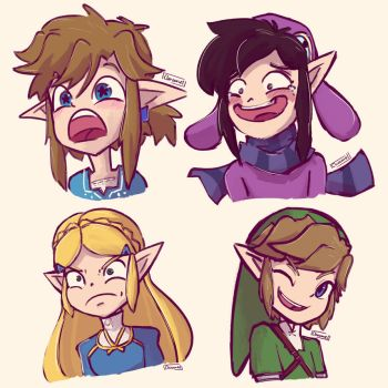 Zelda Requests from Tumblr/Twitter by Chromel