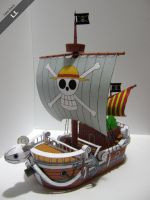 One Piece - Going Merry ( Papercraft) by DarkUmah