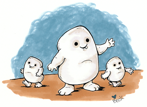 Adipose by beckadoodles