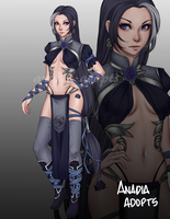 ADOPTABLE AUCTION 43 [Closed] by Anadia-Adopts