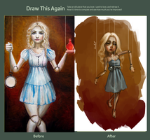 Before and After: Alice by Ashelflaed