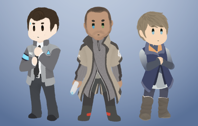 detroit: become tiny by SuperBashSisters