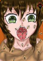 The girl who swallowed bees by SilentWarrior3800