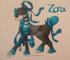 Zora The Shiny Furfrou by Amelyanna