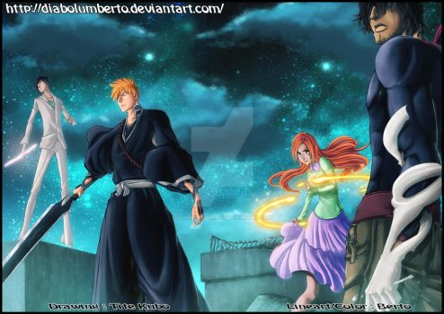 Bleach -The Humans Team - by diabolumberto