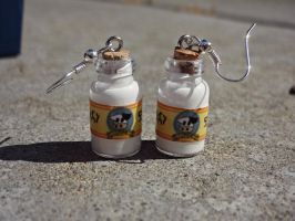 Lon Lon Milk Earrings by TheGeekEmporium