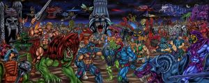 Masters of the Universe (Battlefield Eternia) by SoulStryder210