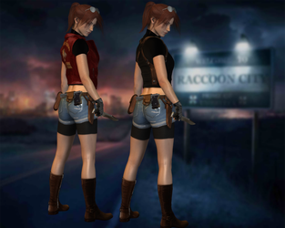 Re2 Claire Redfield by ItalianUtent