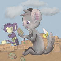 Brick Task...wut by RascalWabbit