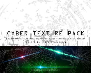 Cyber Texture pack by MariaSemelevich