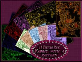 11 Fabric with a pattern Texture pack by Mumuza