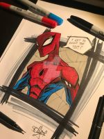Spiderman by 2hotty7