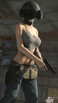 Jager Rule 63 by Rookie425