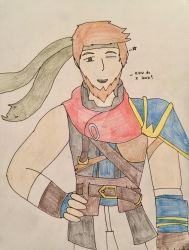 Me as Ike - by MrDrawingLover by ErictheLucario