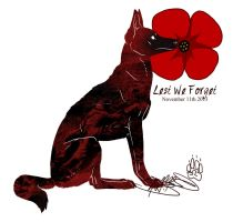 Remembrance Day 2013 by Falcolf