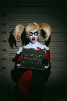 Harley quinn by JustMoolti