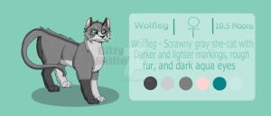 Wolfleg - Warriors OC by BittyMillie
