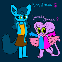 Kira and Lavender by Ips666