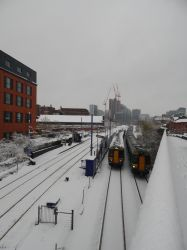 Snow and Snow Hill Suburbans by Kerl-of-Fox-County