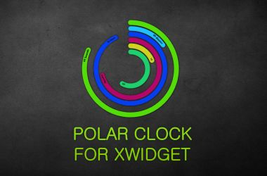 Polar Clock for XWidget by boyzonet