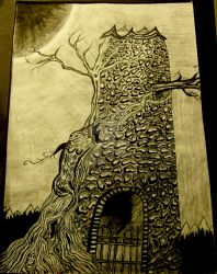 Tower - Pen by NTWooden
